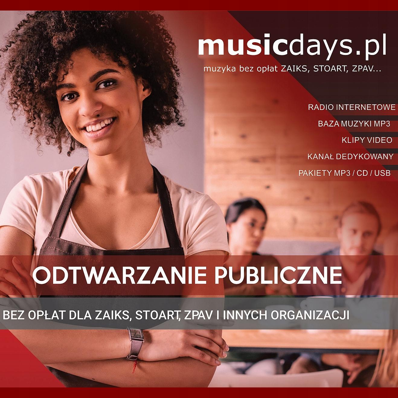 Hudba bez podávania Zaiks - 3 pop albumy 7 MP3 + USB