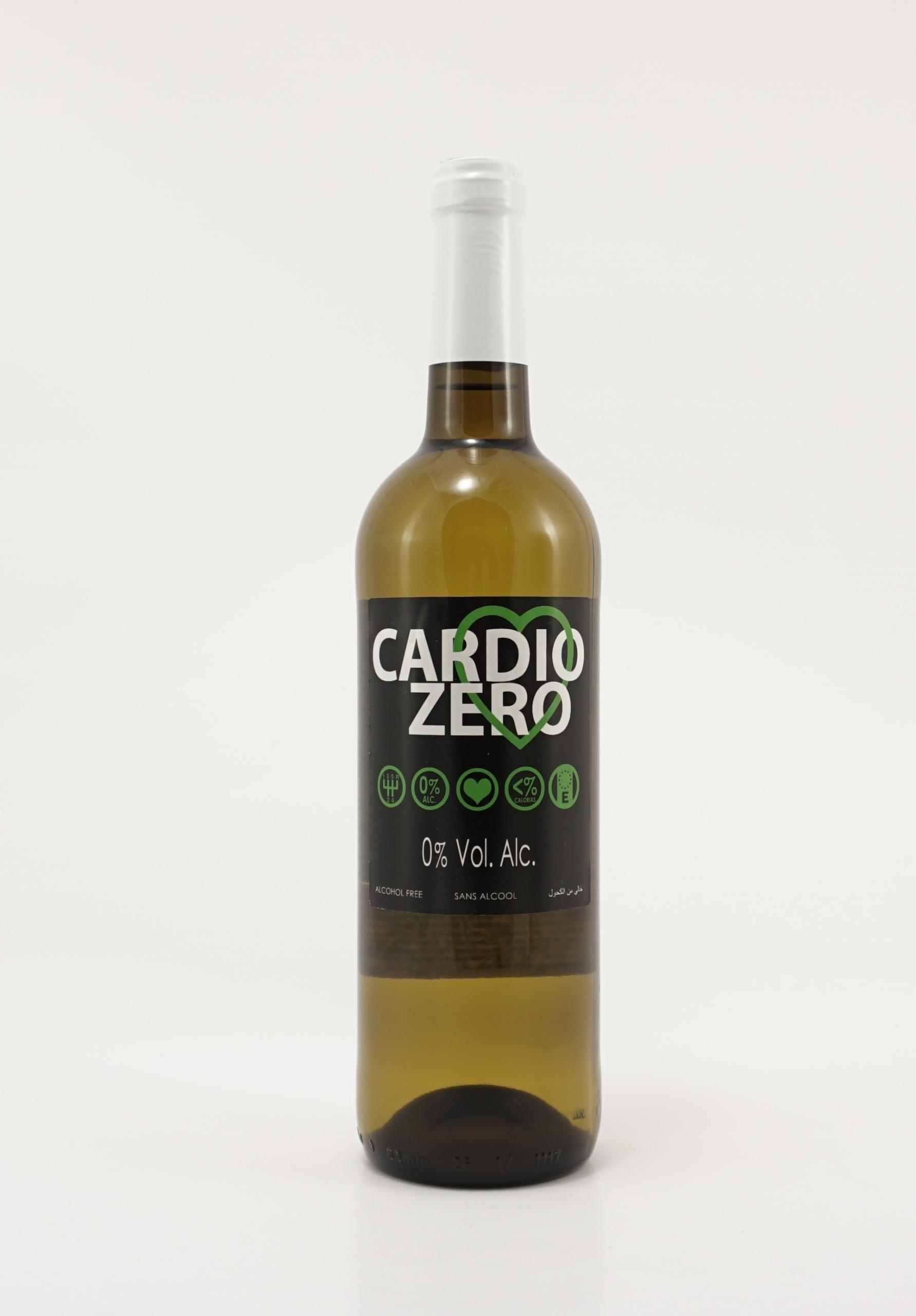 Cardio Zero белое сухое безалкогольное вино
