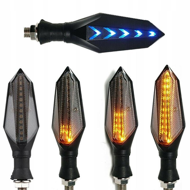 4X LED Kierunkowskaz strzałki motocykla Wskaźnik
