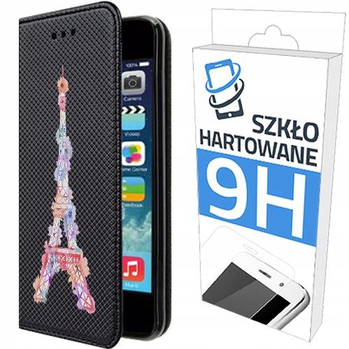 150wzorów Etui Z Klapką+szkło do Apple Iphone 6/6S