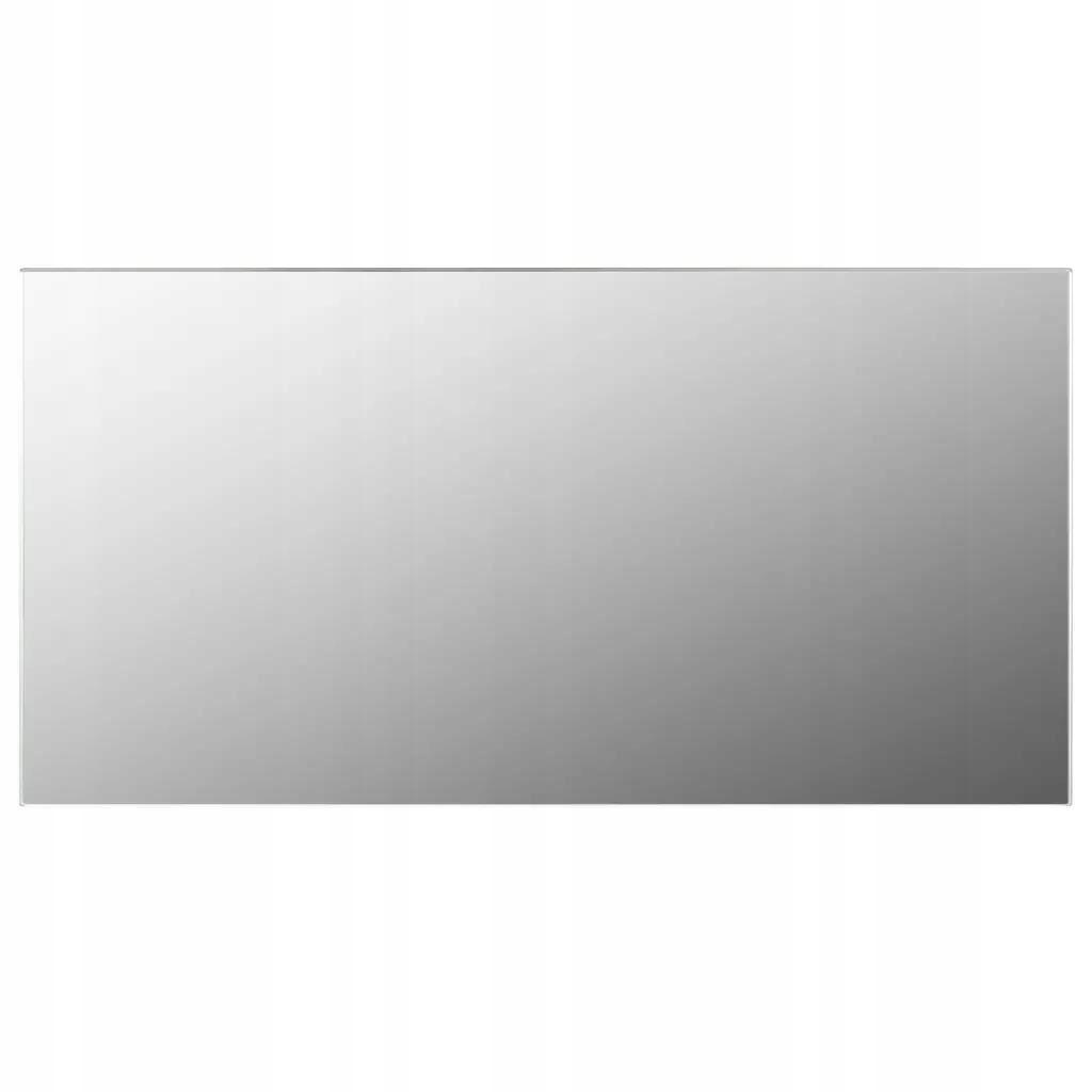 Nástenné zrkadlo Bez Rámu, 120x60 cm