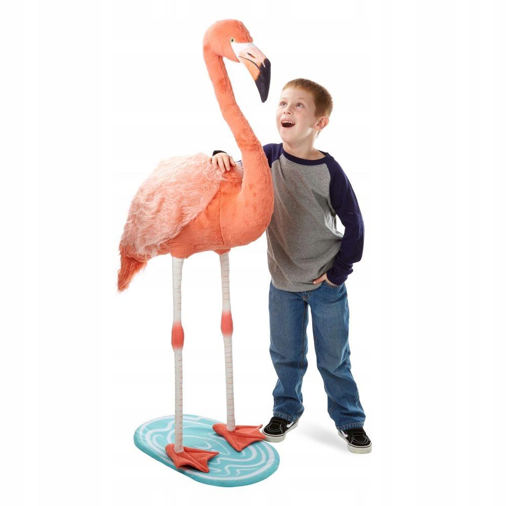 Melissa a Doug Plush Flamingo maskot detí