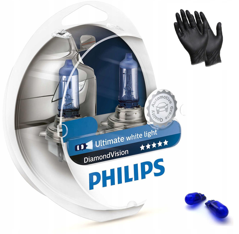 Купить 2x H11 PHILIPS DIAMOND VISION COOL БЕЛЫЙ 5000K W5W на Otpravka - цены и фото - доставка из Польши и стран Европы в Украину.