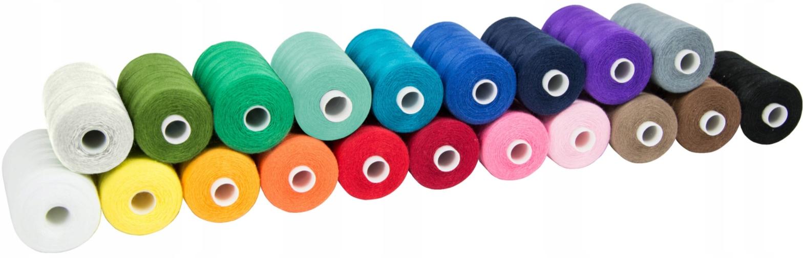 Набор из 20 ниток для швейной машины HARD 915m