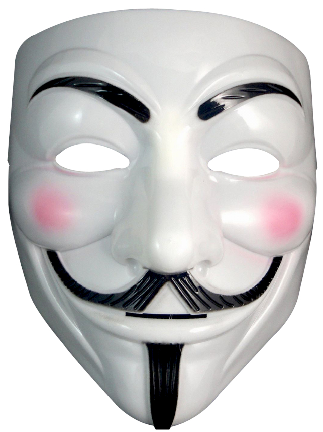 АНОНИМНАЯ МАСКА VENDETTA STOP ACTA HALLOWEEN