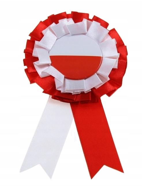 KOTYLION NARODOWY biało czerwony flaga Polski