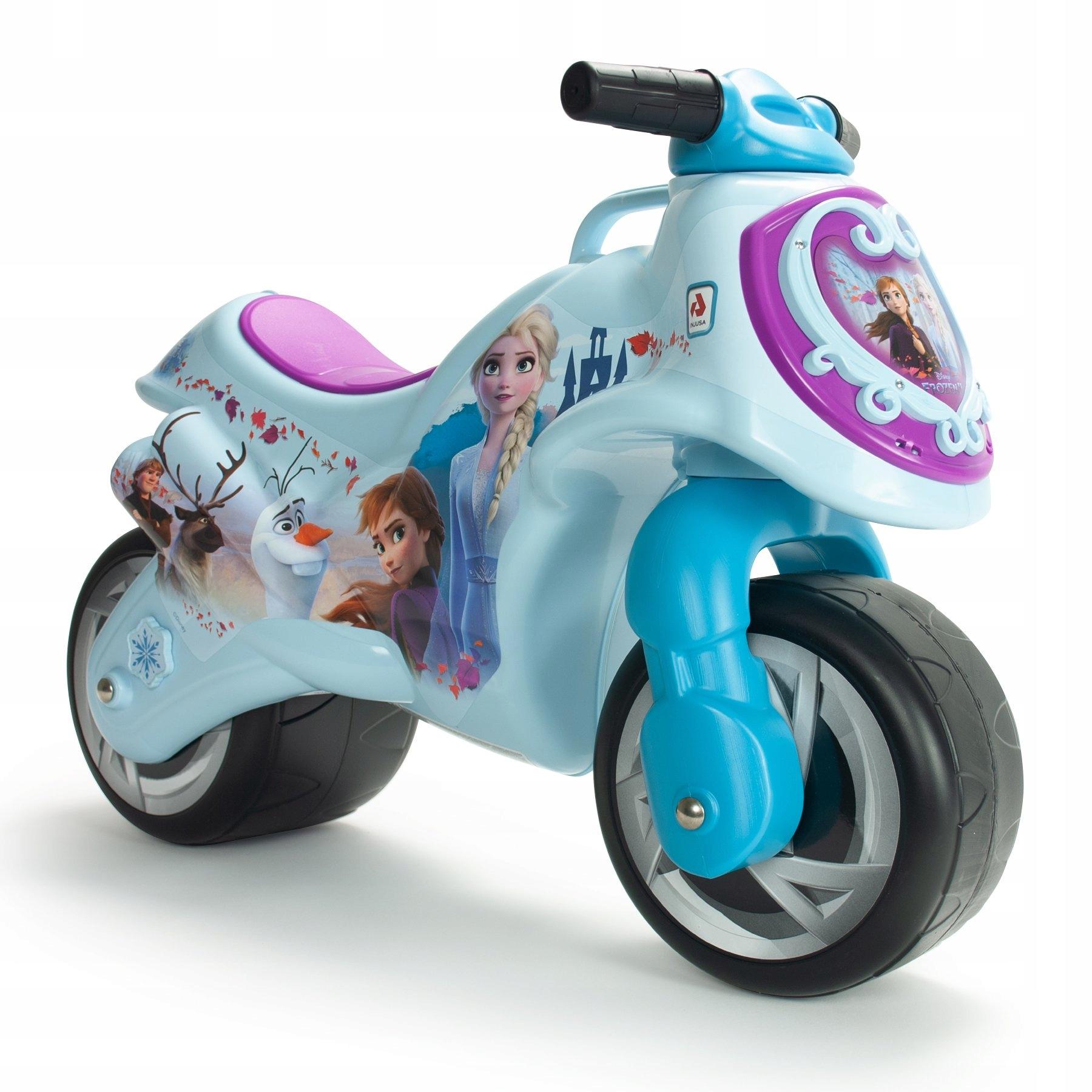Frozen II Frozen Motorek Ride Injusa