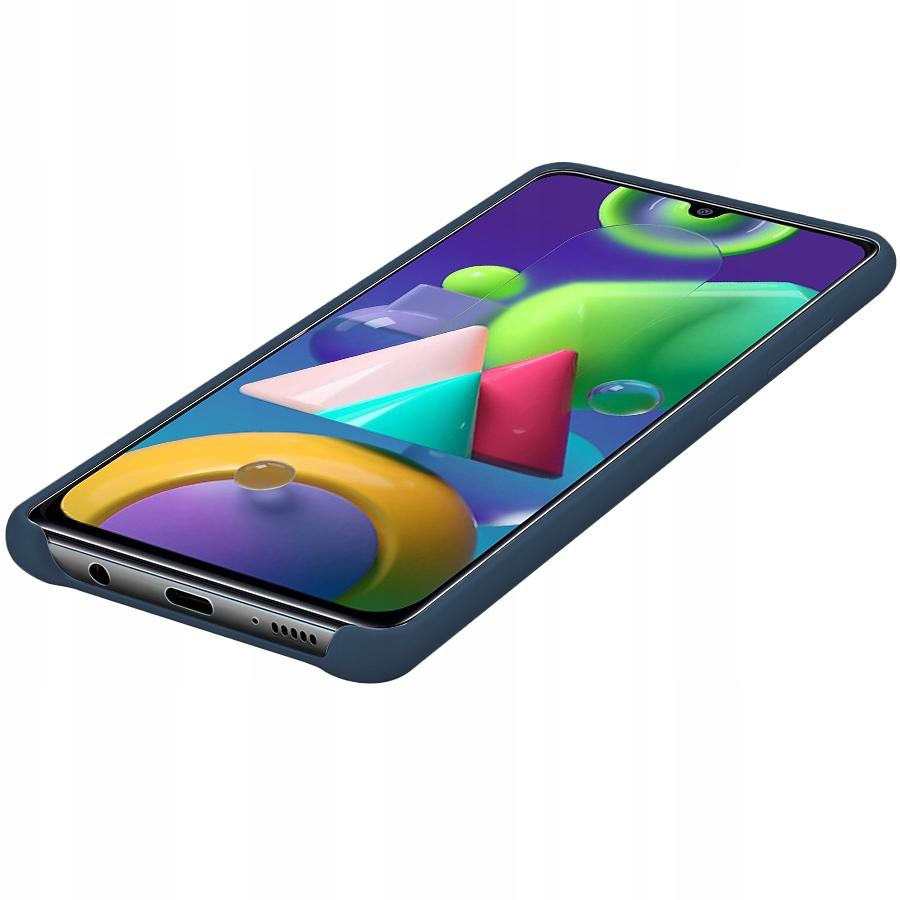Etui do Samsung Galaxy M21 Case Silikon + Szkło 9H Dedykowany model Samsung Galaxy M21