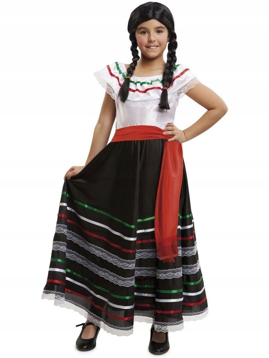Strój Meksykański Kostium Meksykanka Tancerki 110