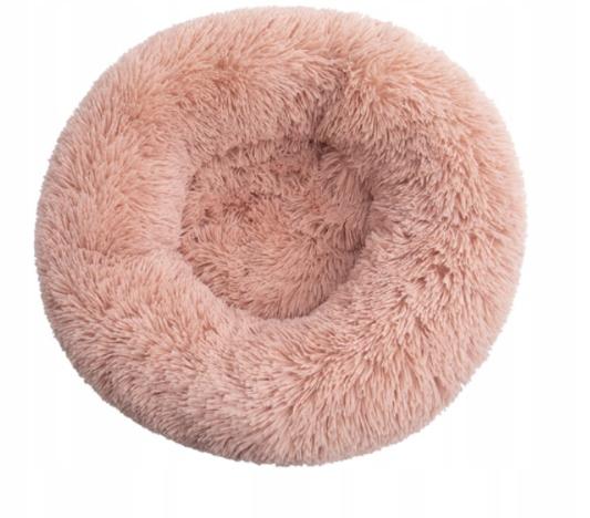 LEGOWISKO WŁOCHATE DLA PSA KOTA rozmiar M 60cm Kolor odcienie różowego