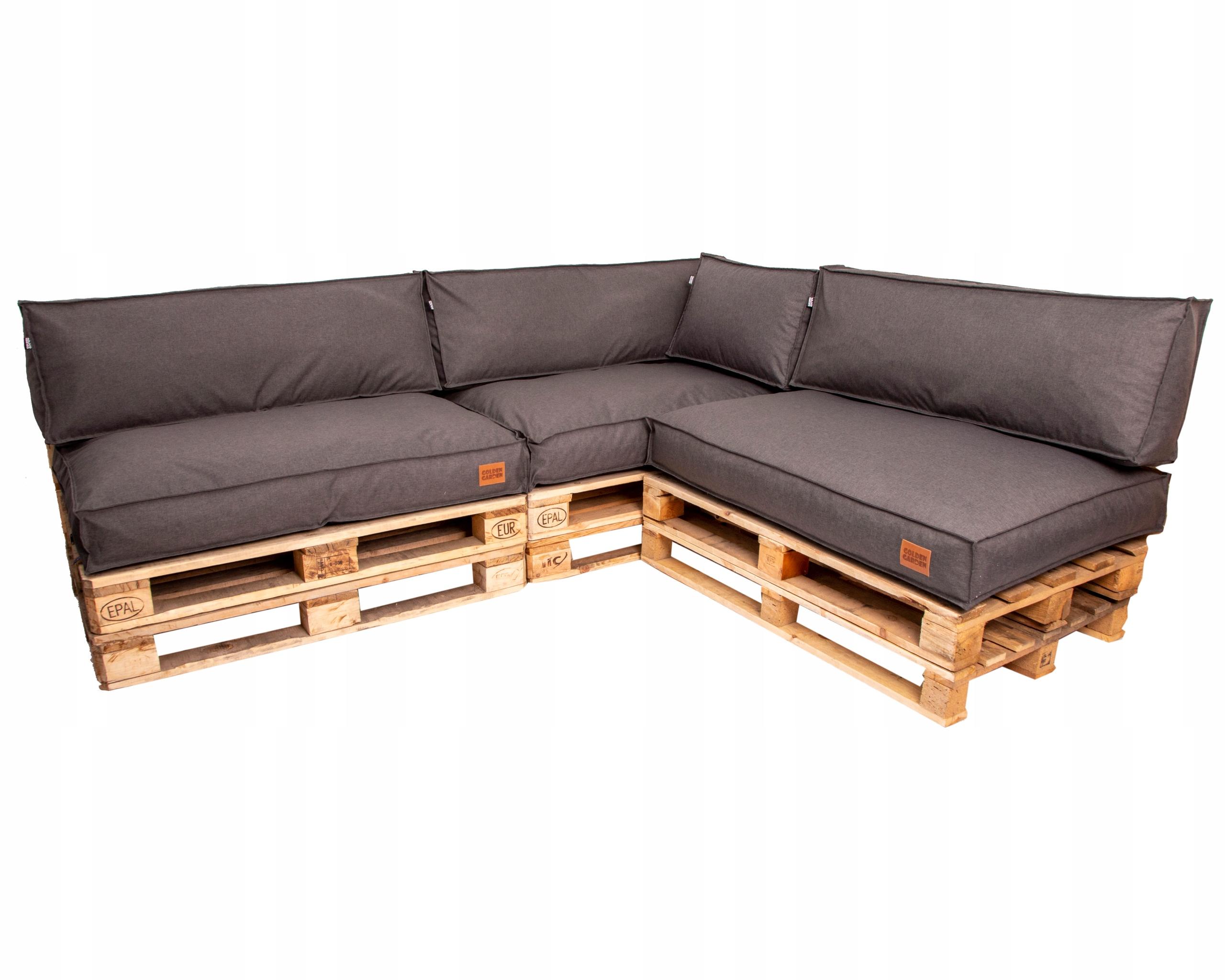 комплект садовых подушек для поддонов 3x120 / 80/15