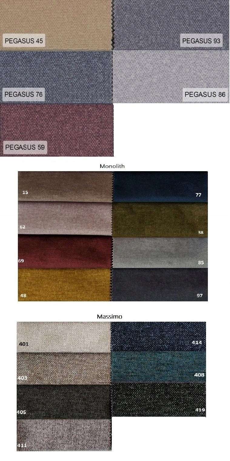 Großes Sofa SARA Schlafsofa ausklappbar - Farben Körpermaterial Sonstiges