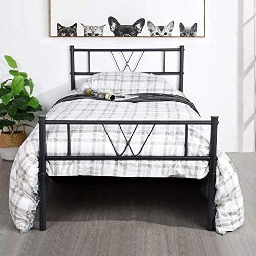 Oceľová posteľ Aingoo