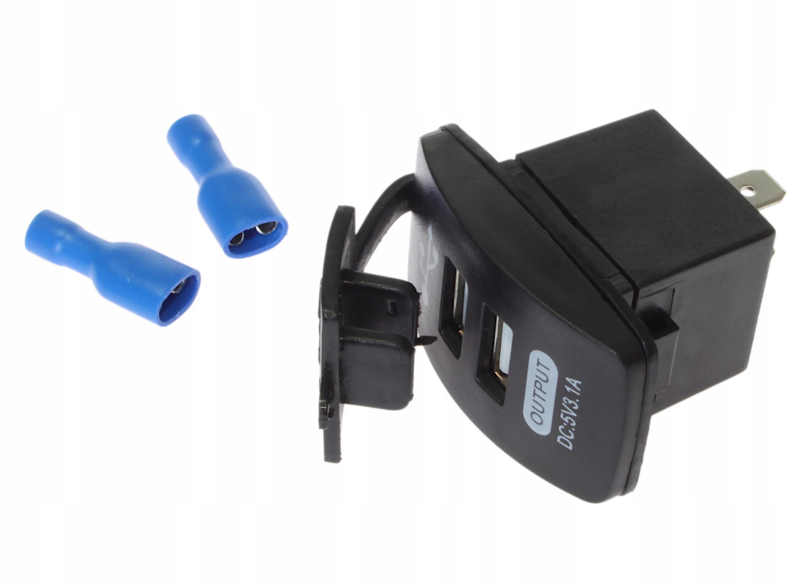 панельная адаптер Зарядное устройство usb автомобильная 12v 24v