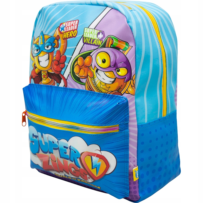Batoh Super Zings Backpack materská škola s mysom 35cm