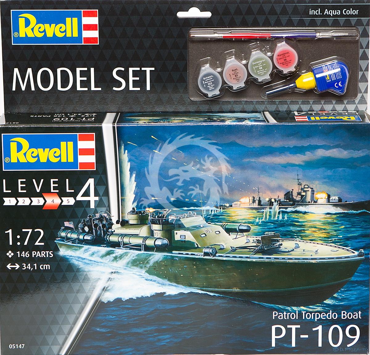 Patrol Torpedo Boat PT-109 Set Revell 65147 v 1/72