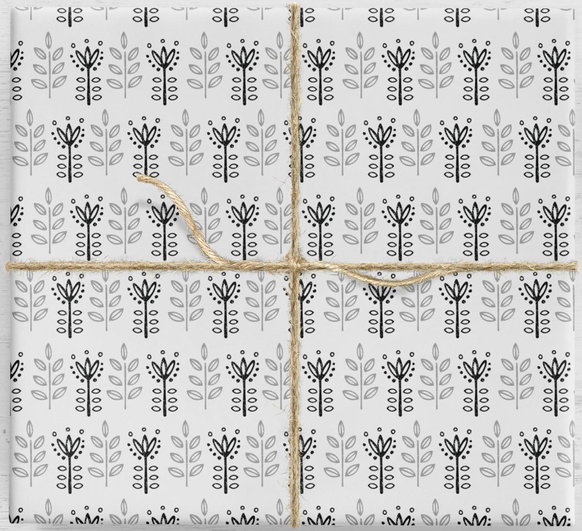 Crocus 10 listov darčekového baliaceho papiera