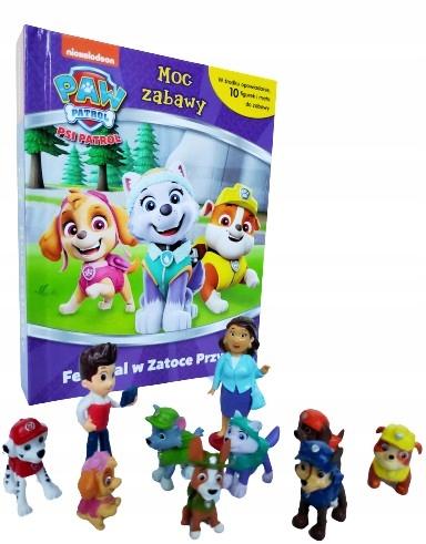 Psi Patrol Moc Zabawy Książka Figurki Zabawki Mata