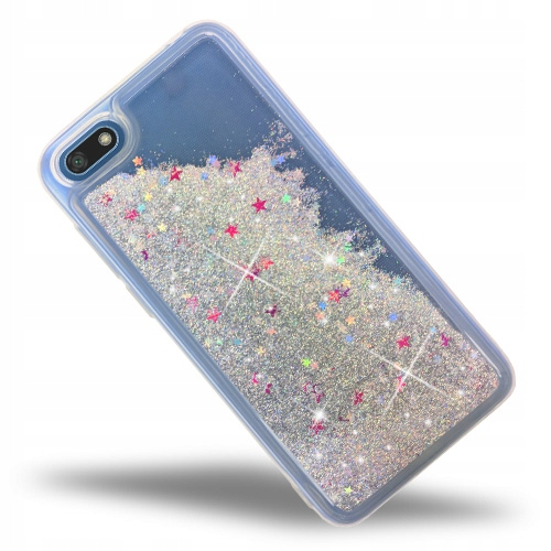 Brokat Liquid Glitter Etui Do Huawei Y5 2018