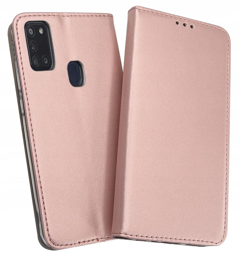 Etui Portfel Magnet + Szkło do Samsung Galaxy A21S