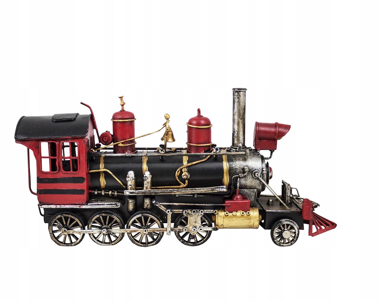 Replika modelu retro vlaku LOKOMOTÍV MSzhh09