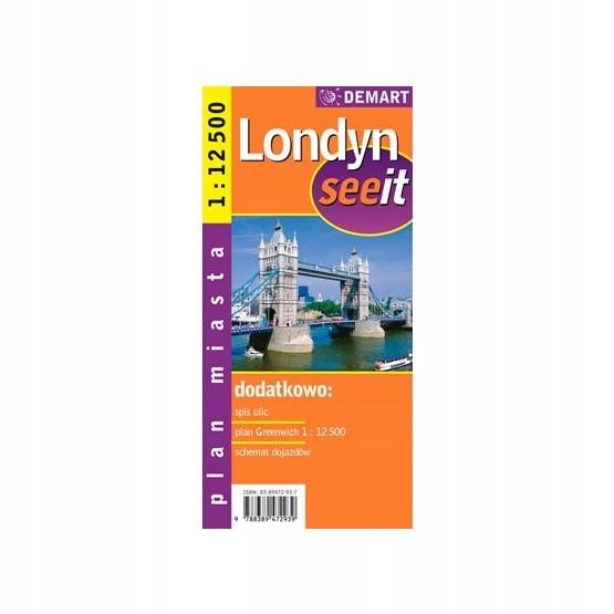 Купить ЛОНДОН See IT| ПЛАН ГОРОДА 112 аккаунтом1300 DEMART на Eurozakup - цены и фото - доставка из Польши и стран Европы в Украину.