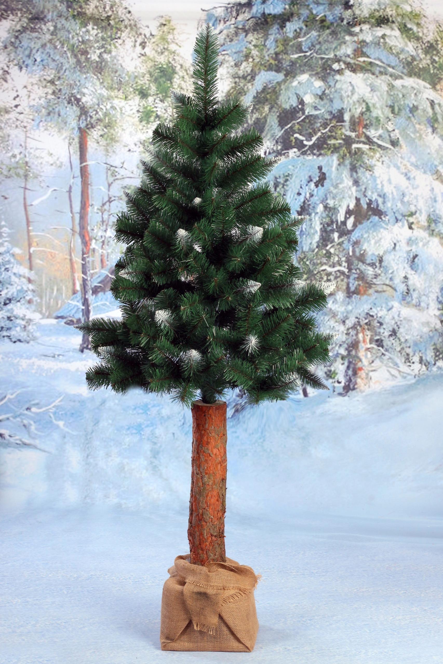 Vianočný stromček na kufri RUŽOVÁ BOROVICA 160 cm