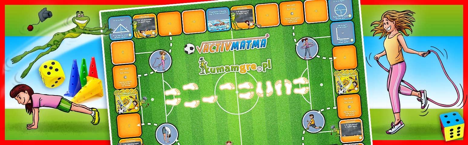 eko gra planszowa ACTIVMATMA piłka nożna Płeć Chłopcy