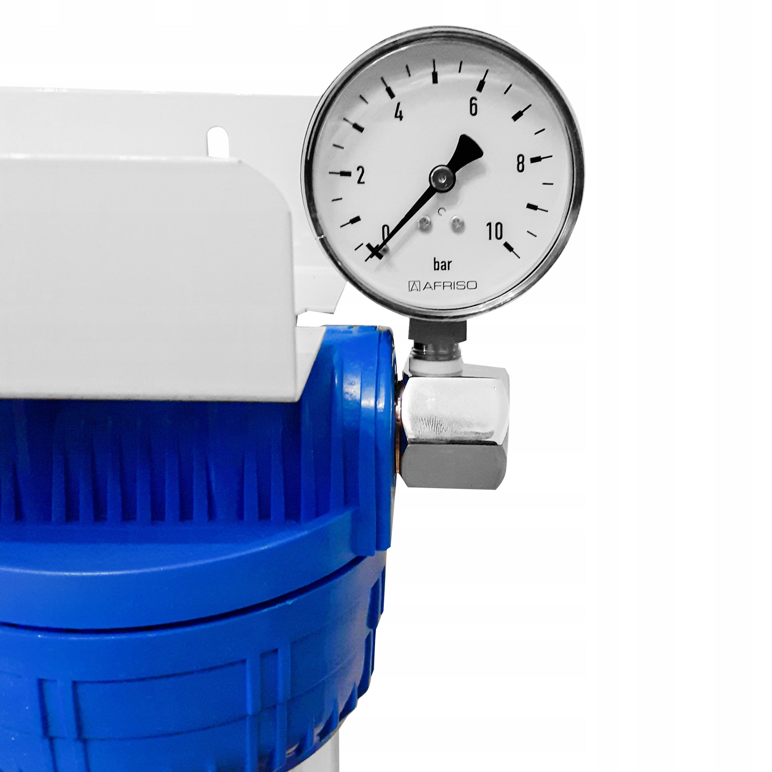 FILTR WODY CAŁY DOM 3-STOPNIOWY ZMIĘKCZA ODŻELAZIA Kod produktu Filtr potrójny Węgiel +Zmiękczający +Odżelaziający