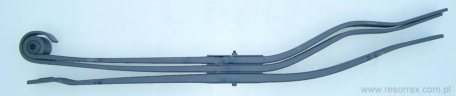 листовая задняя панель 3 рессора volvo fl6