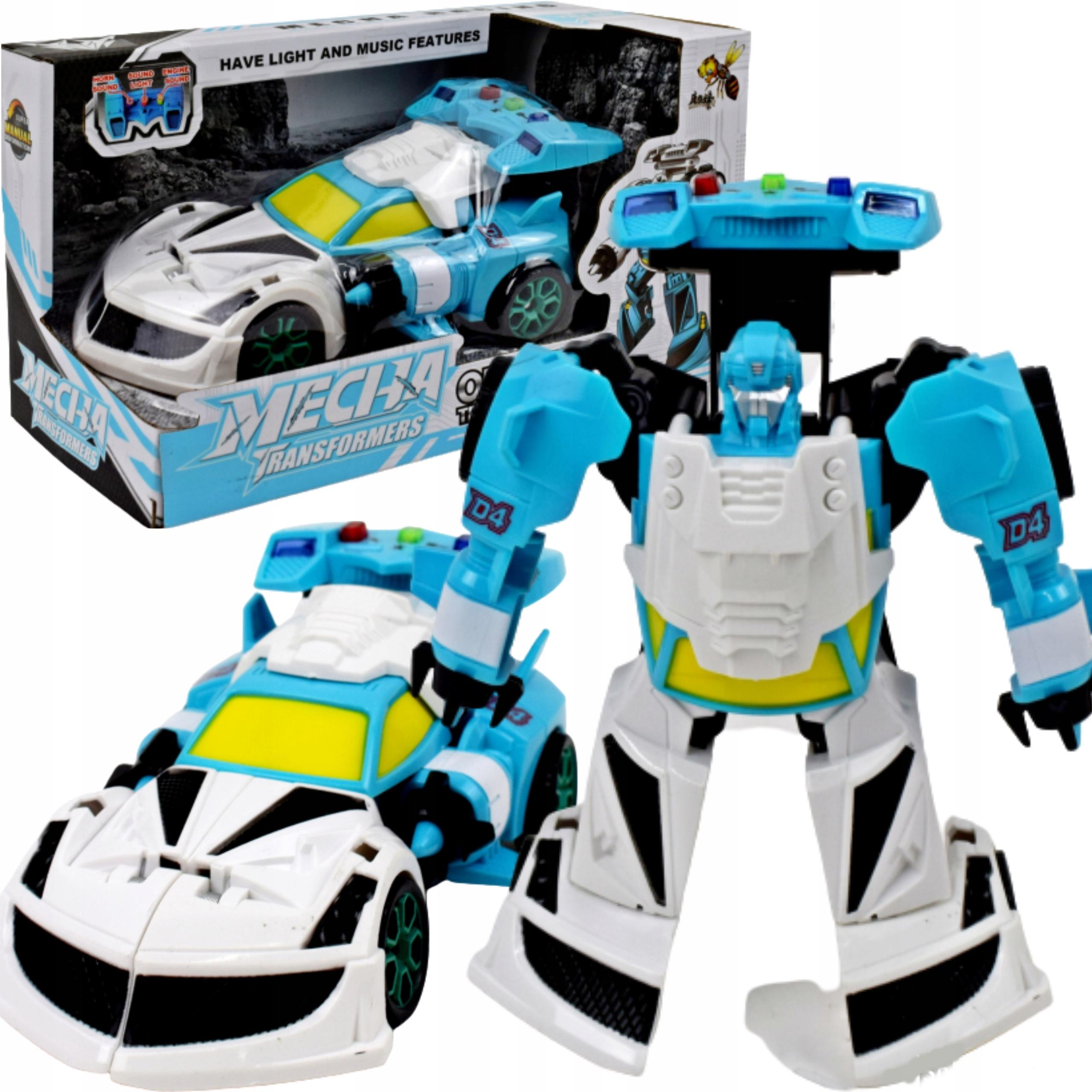 AUTOMOBILOVÝ ROBOT AUTOMOBIL ROBOT 2v1
