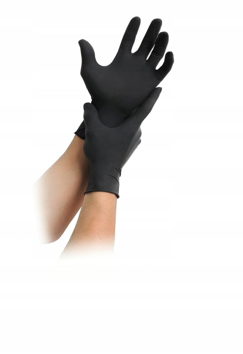 Rękawiczki lateksowe rozmiar L