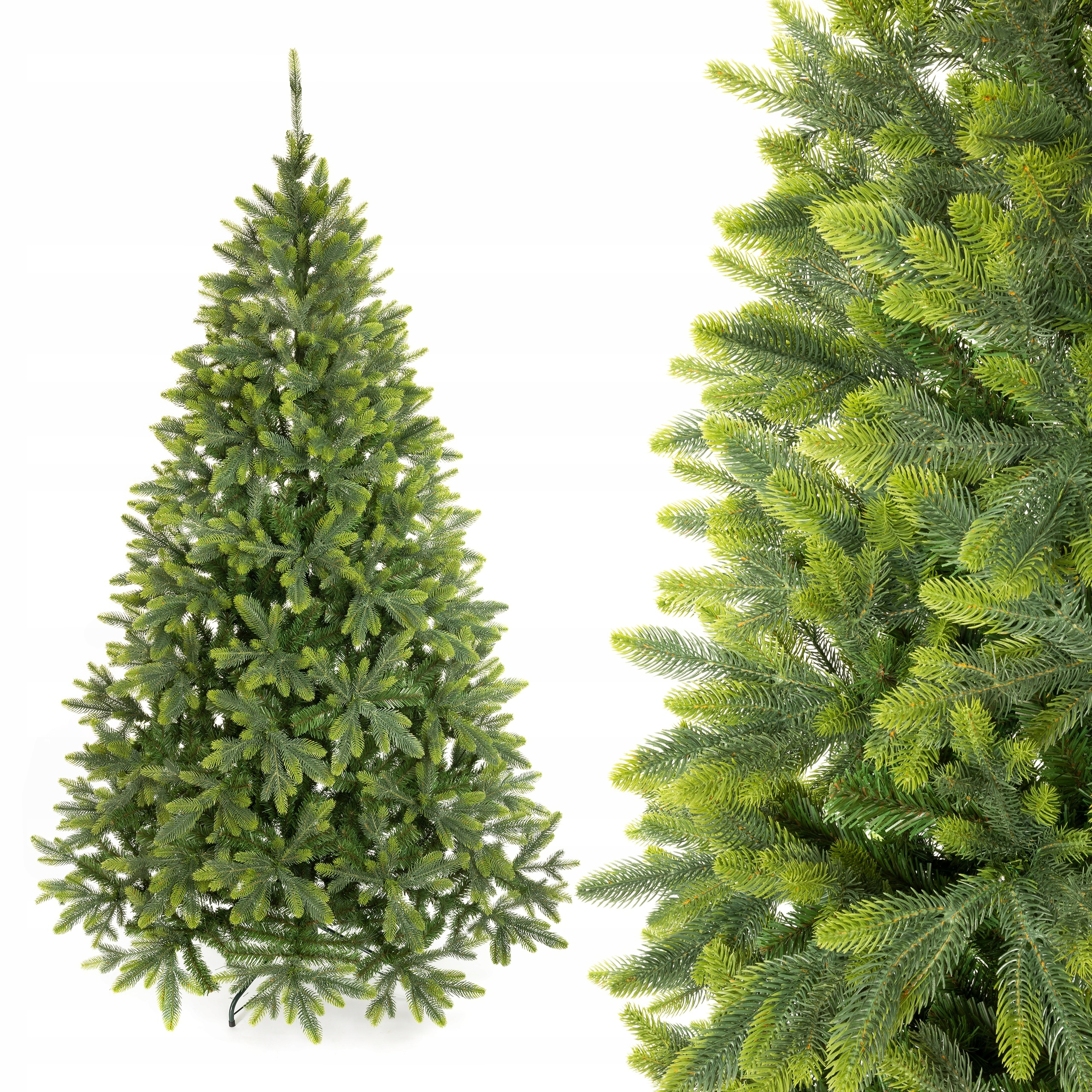 Umelý vianočný stromček TAJGA Smrek PE 220 cm ako živý