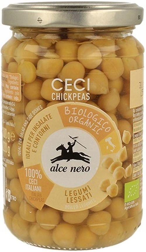 Органический нут в лагуне 300 г Alce Nero Cieciorka