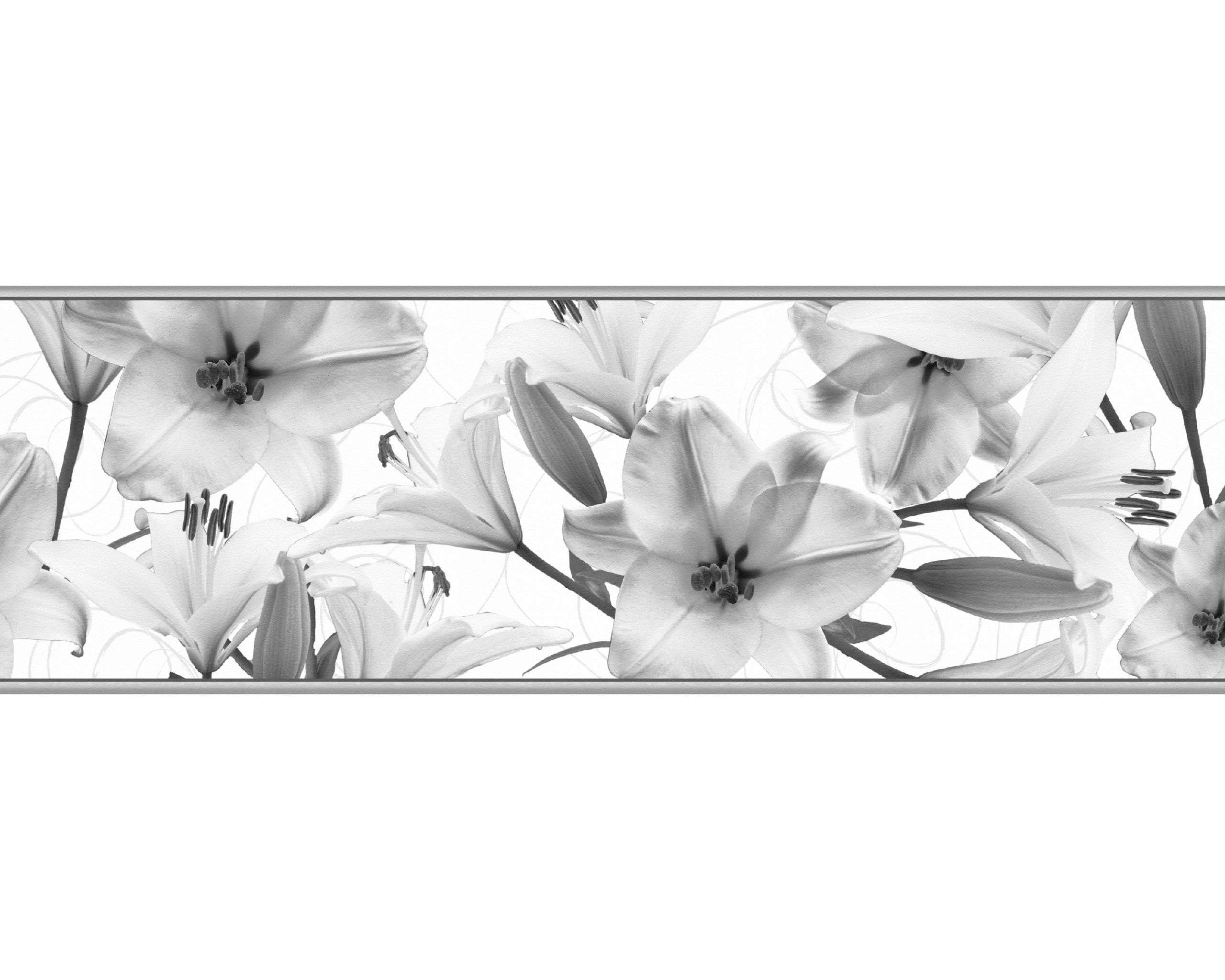 Декоративная планка на стену Deco Border 83 Lilies