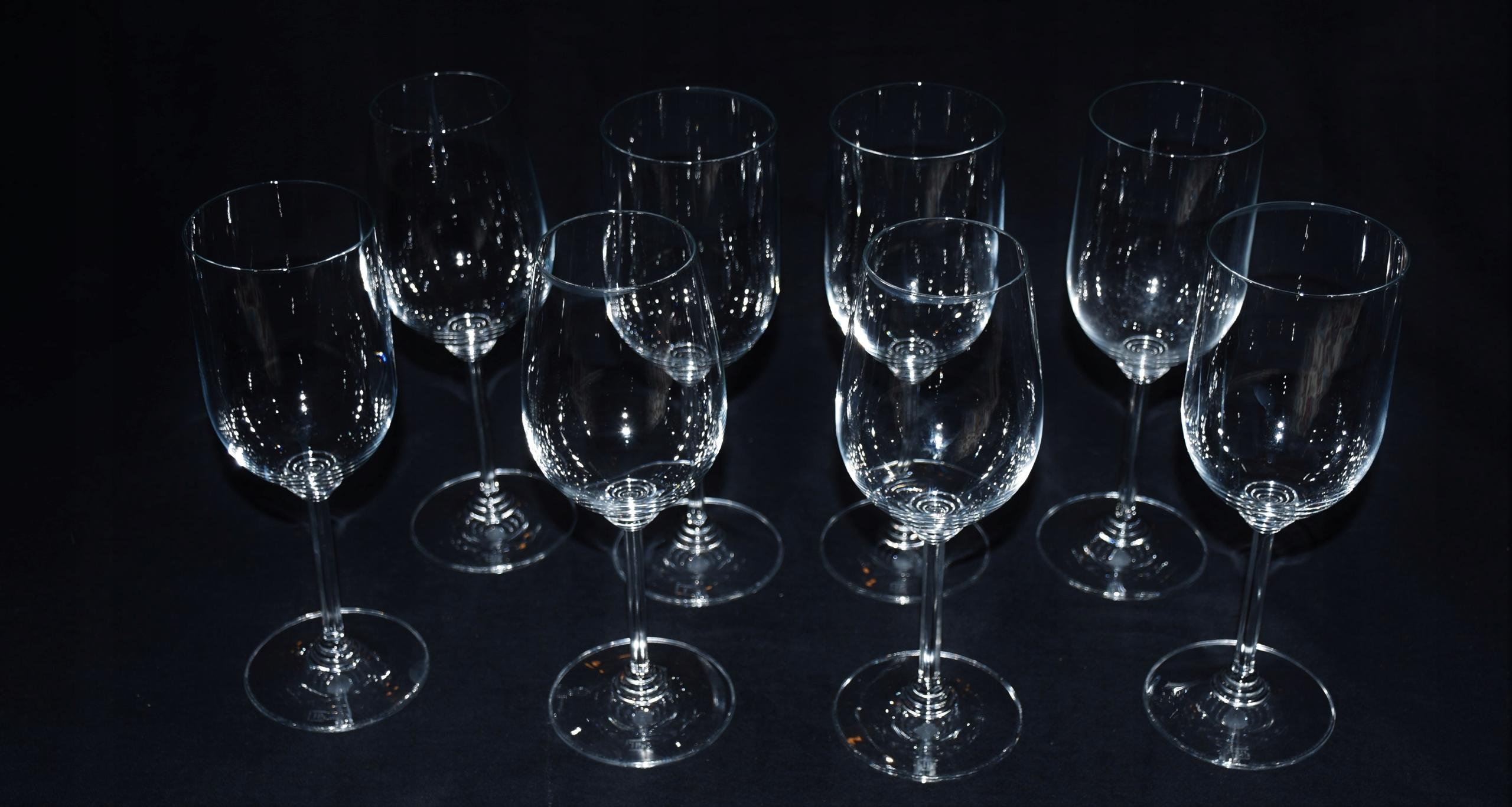 Riedel 8x kieliszki do wina/wody w oryg. opak.