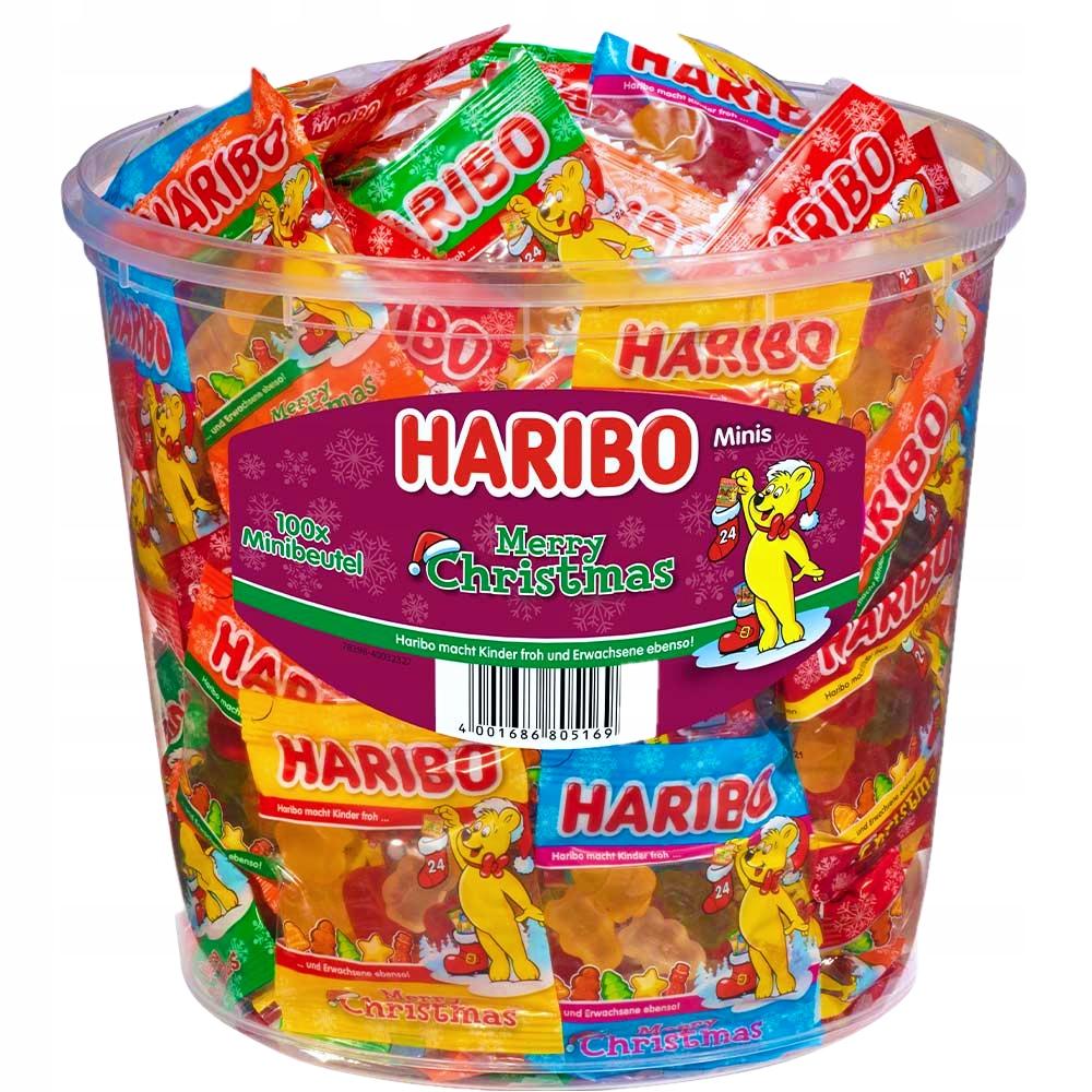 Haribo Mini Minis Świąteczna Edycja 100 sztuk