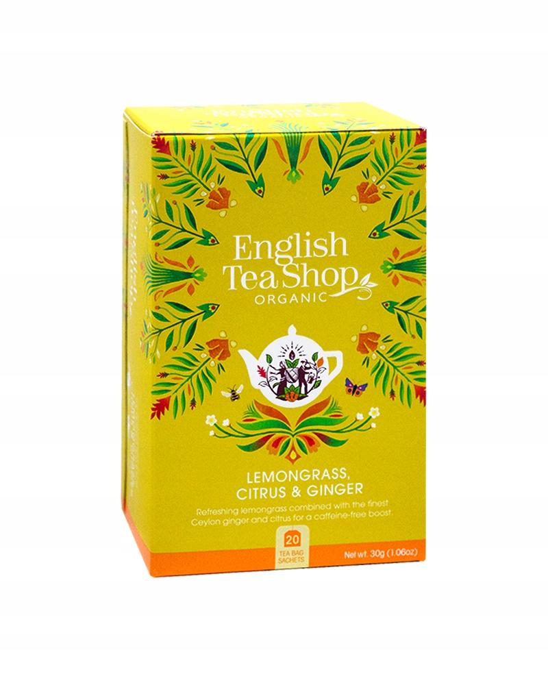 Чай ETS LEMONGRASS GINGER CITRUS 20 пакетиков