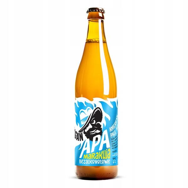 Пиво Harpagan безалкогольное, APA MARAKUJA, 500мл