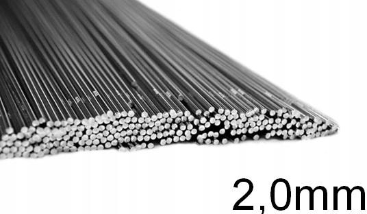 DRUT SPAWALNICZY NIERDZEWNY TIG 308 LSi 2,0 mm