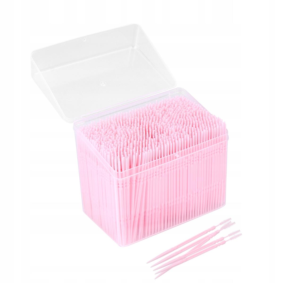 1100 sztuk Jednorazowe plastikowe wykałaczki Podwó