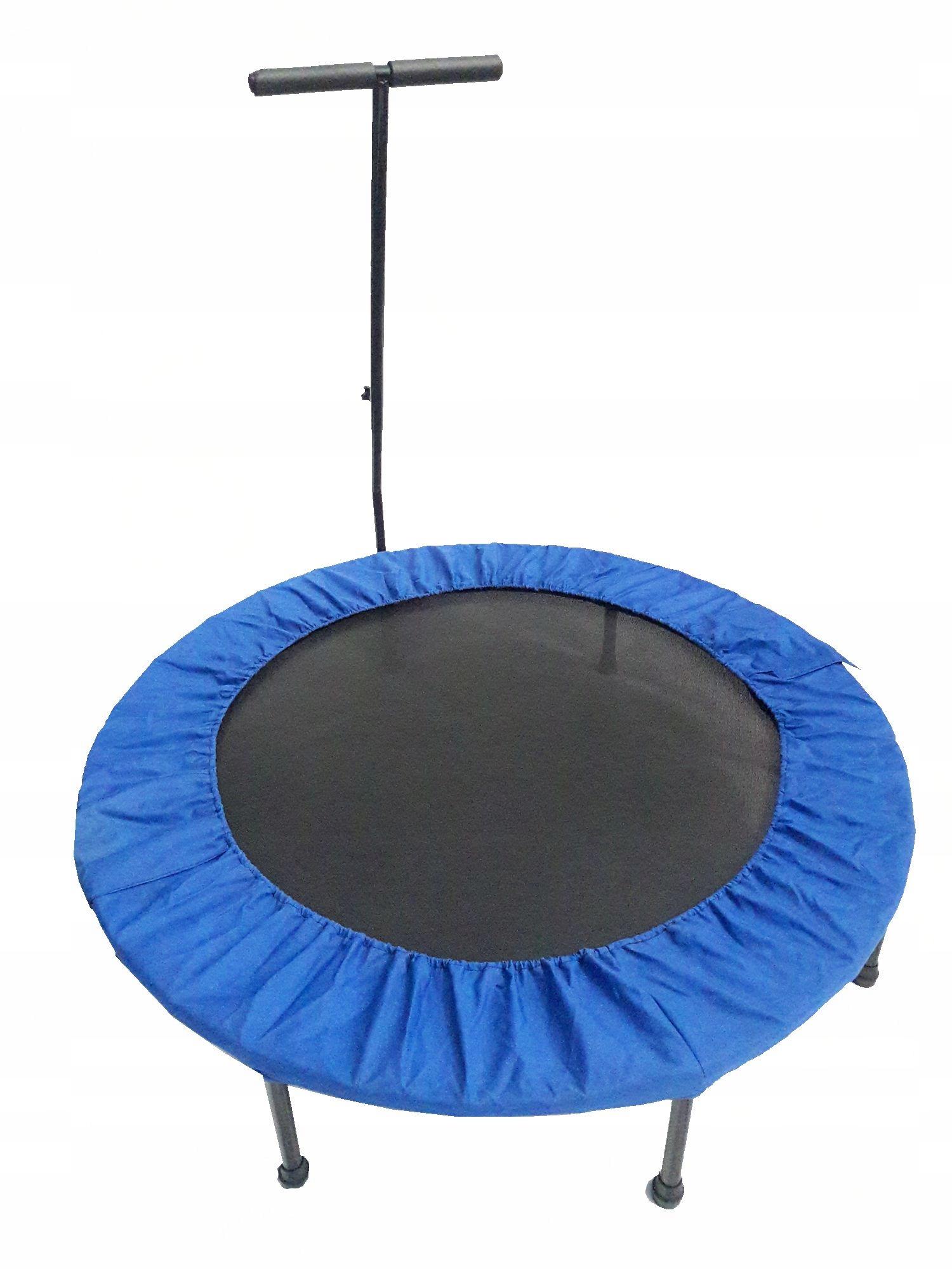 Fitness trampolína, 122 cm, s madlom.