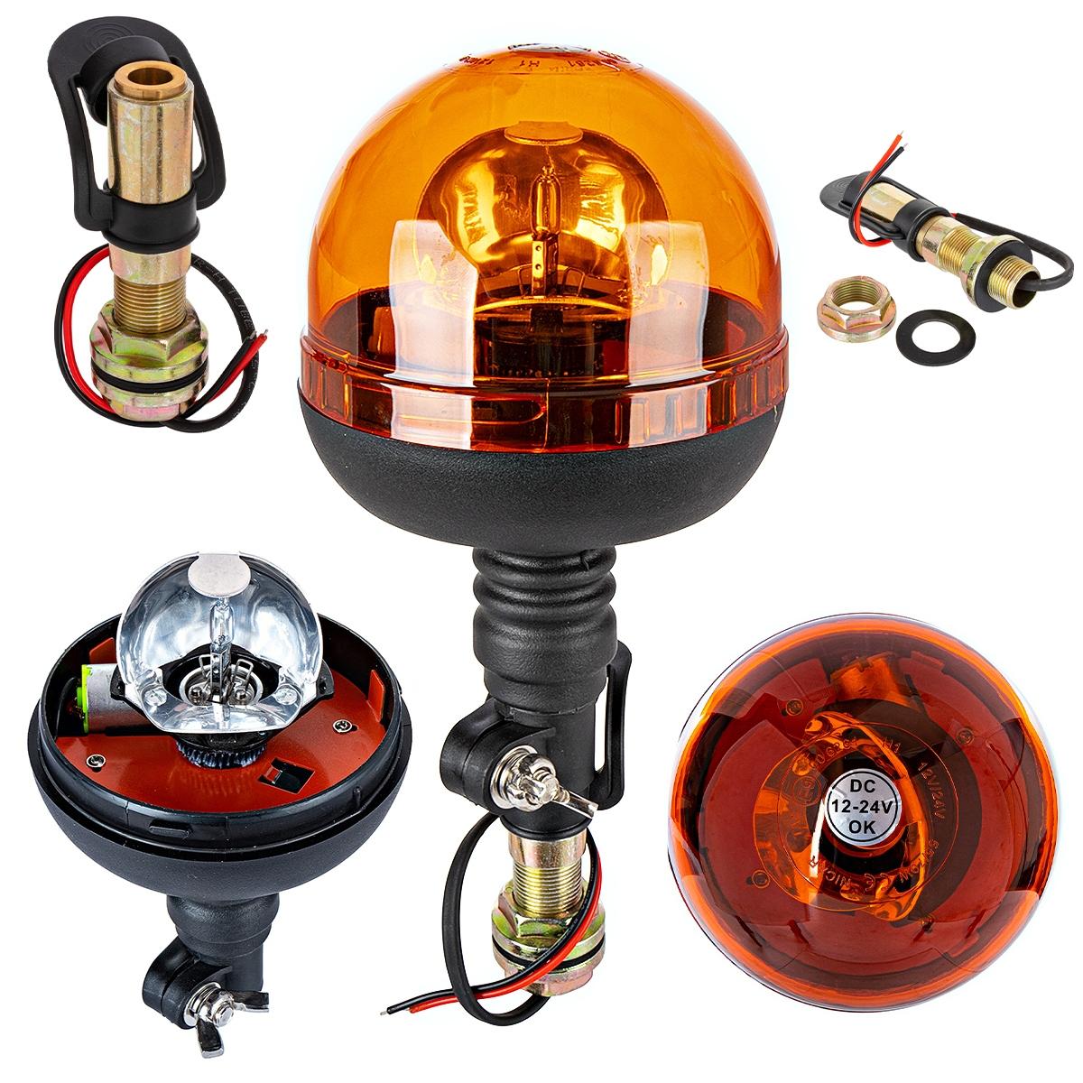 лампа предупреждения петух z ручкой i кабель