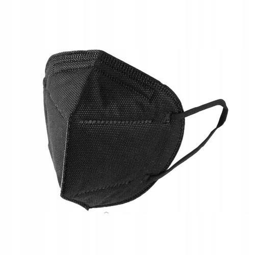 KN95 Черные многоразовые защитные маски 10 шт CE