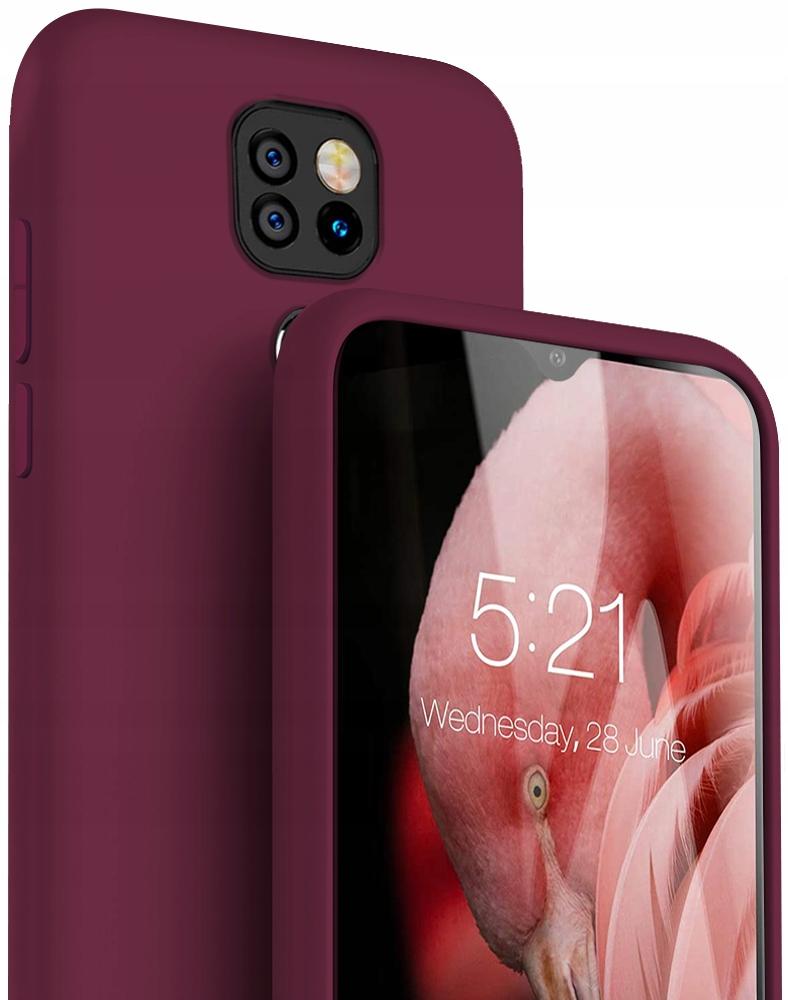 Etui do Motorola Moto G9 Play Case Silikon + Szkło