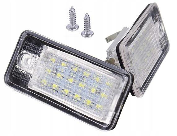 лампы led подсветка audi a3 8p a4 b6 b7 a6 c6