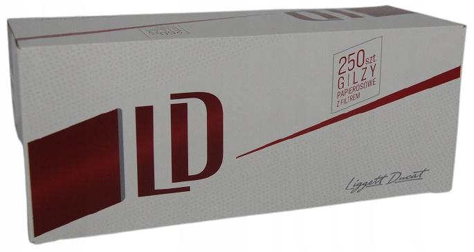 Трубки для сигарет LD RED 250 шт МЕГА ЦЕНА