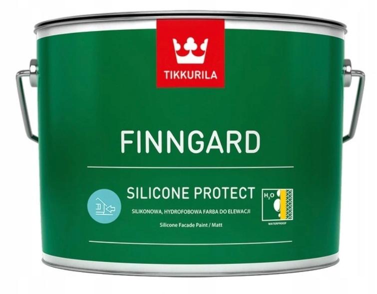 FINNGARD SILICONE PROTECT- фасадная краска, 9 л