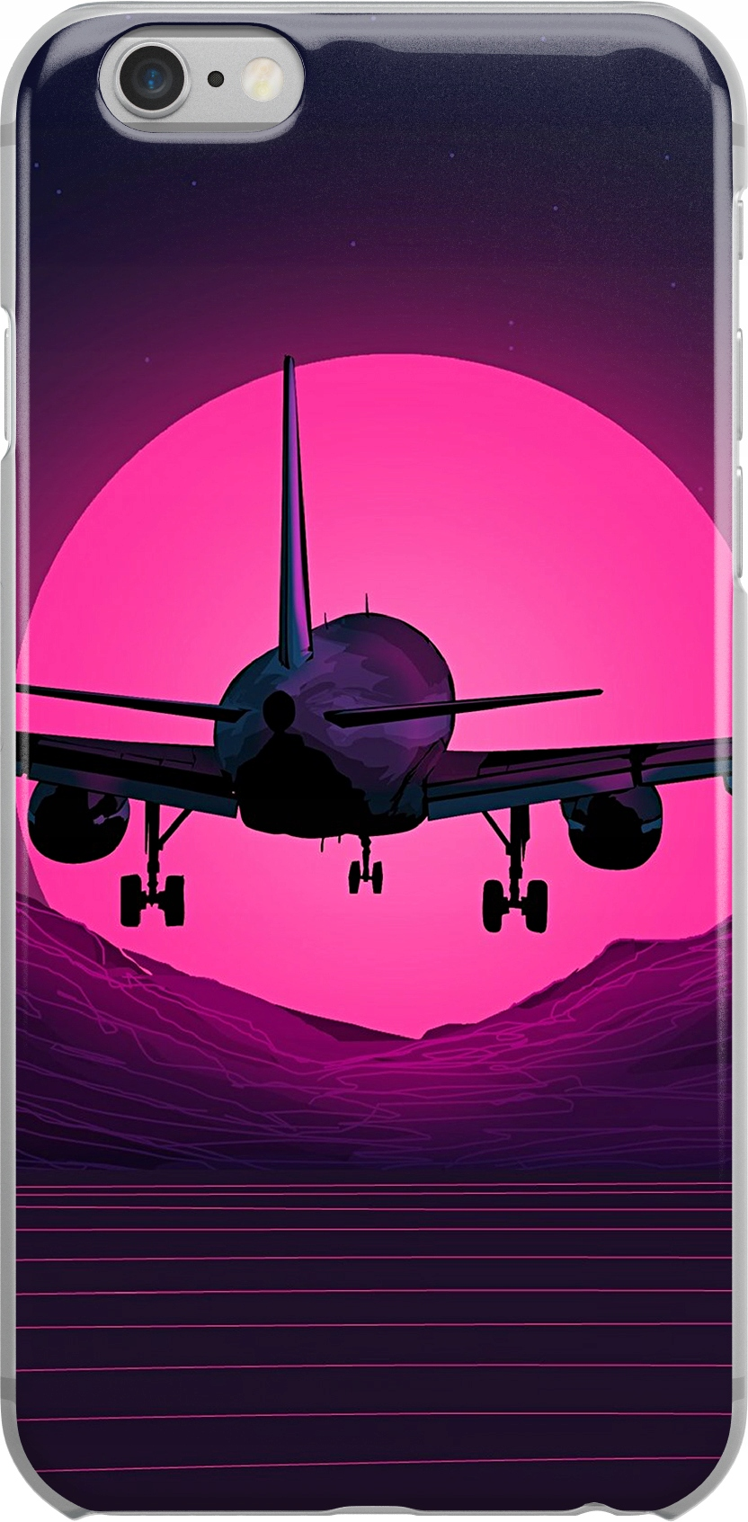 Etui Wzory Samolot Huawei Y8P