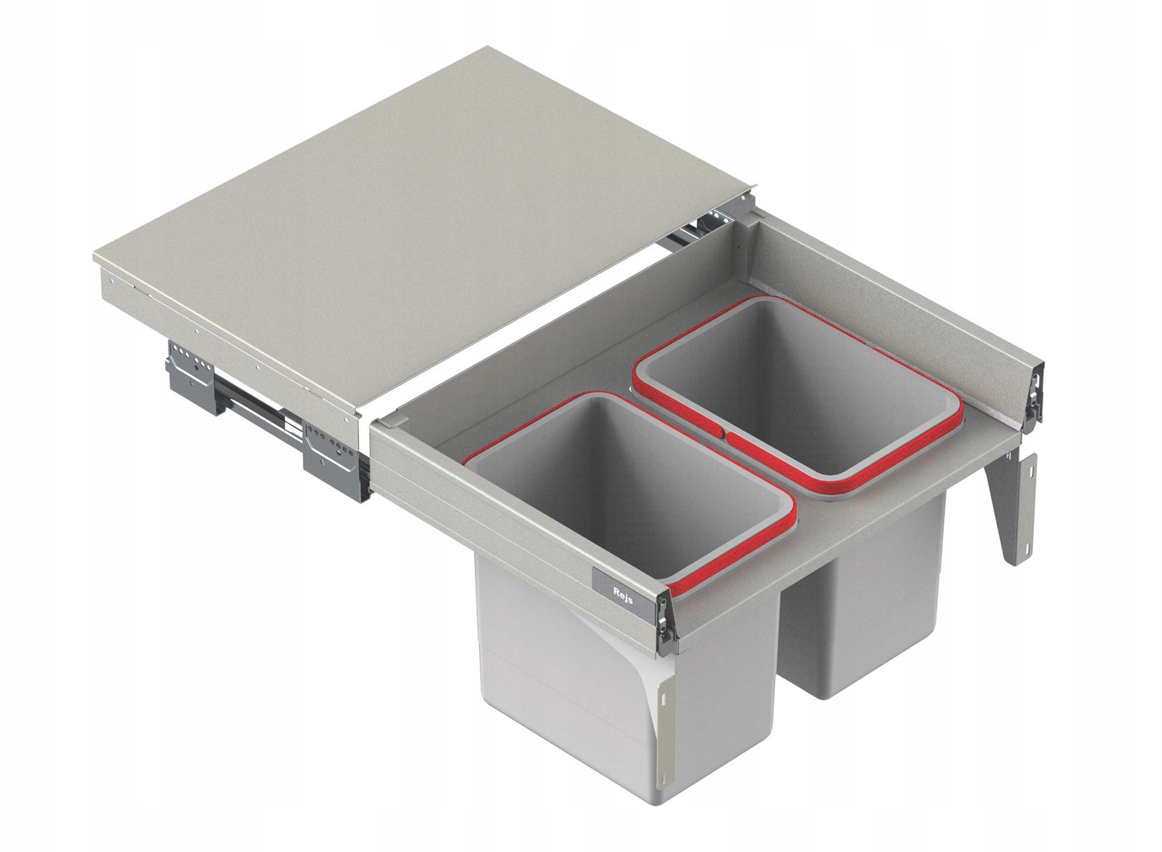 BOX NA ODPADOVANIE ODPADOVÉHO ODPADU 2x18 L PREDNÝ 60 L-400